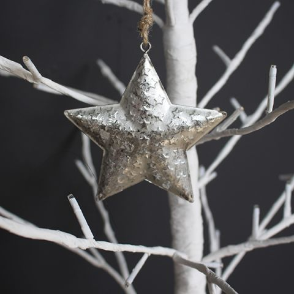 METAL STAR TREE HANGER