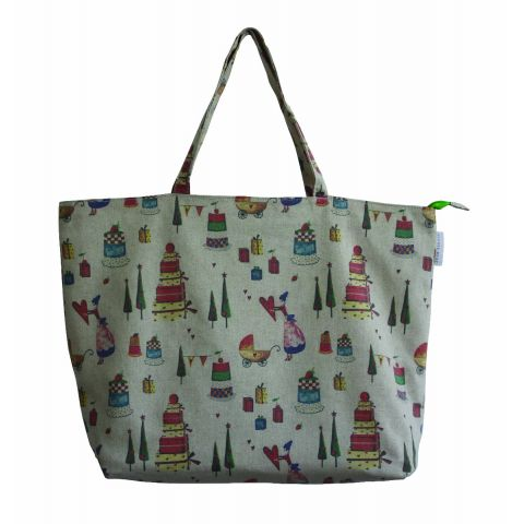 GIVING LARGE TOTE BAG