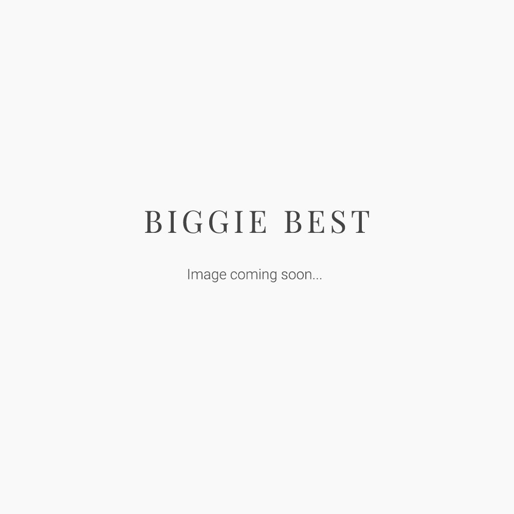 BEIGE/SILVER FABRIC STOCKING