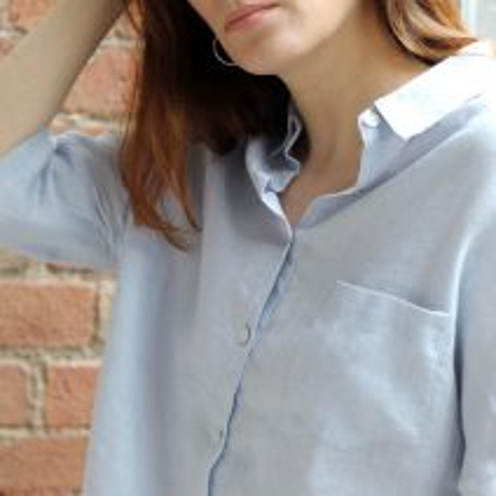 MAISIE SHIRT - LIGHT BLUE
